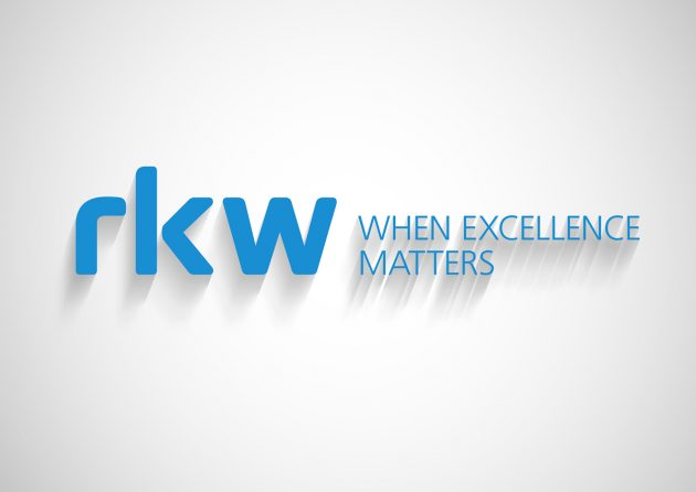RKW Group - Logo mit Schatten