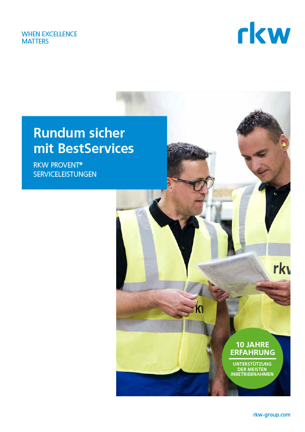 RKW Gruppe - RKW ProVent Servicebrochure DE