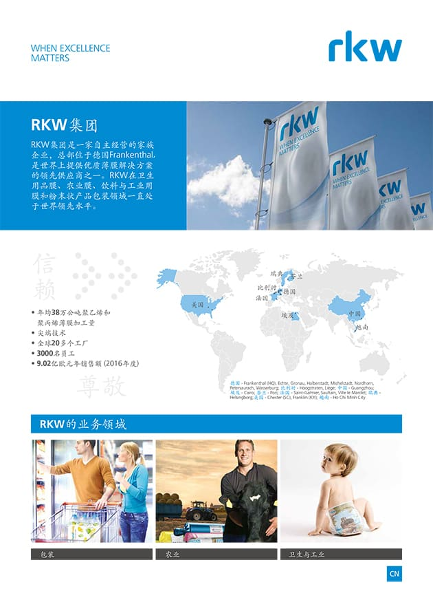RKW Gruppe - RKW Hy Flyer Group Division Chinese
